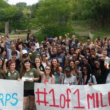 Over 140 Cincinnati AmeriCorps members take pledge of service
