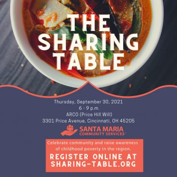 The Sharing Table – September 30, 2021